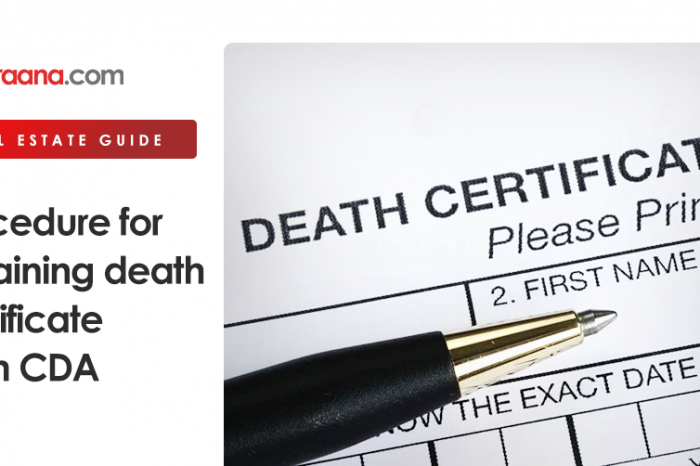 Procedure for obtaining Death Certificate from CDA