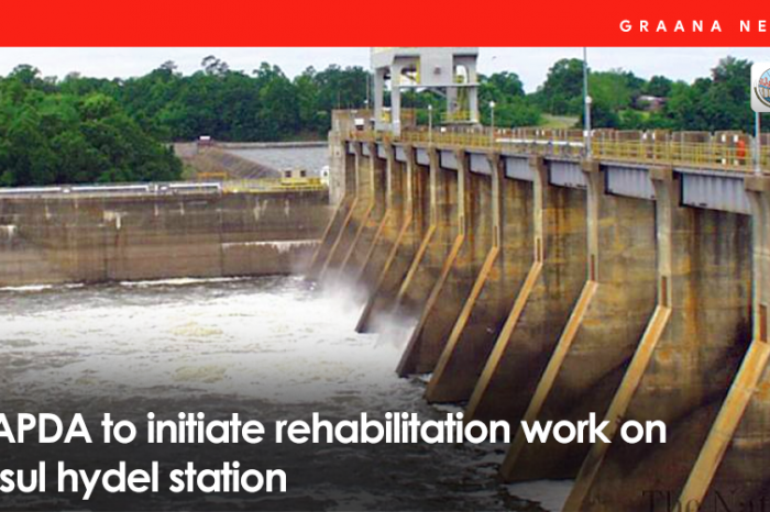 WAPDA to initiate rehabilitation work on Rasul hydel station