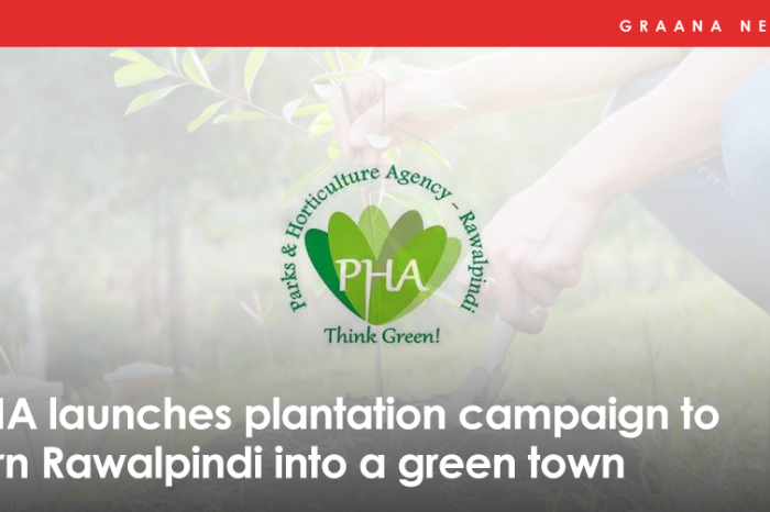 PHA launches plantation campaign to turn Rawalpindi into a green town
