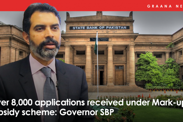 Over 8,000 applications received under Mark-up subsidy scheme: Governor SBP