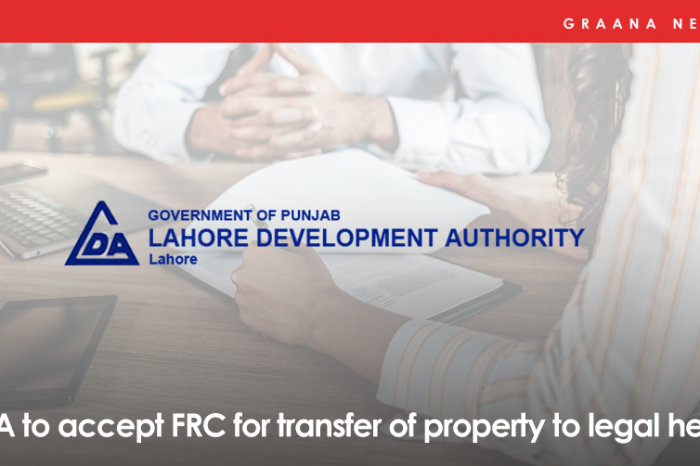 LDA to accept FRC for transfer of property to legal heirs