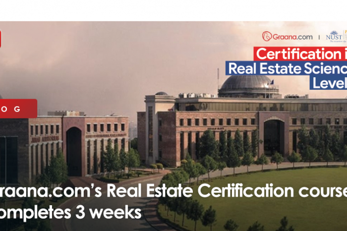 Graana.com's Real Estate Certification course completes 3 weeks