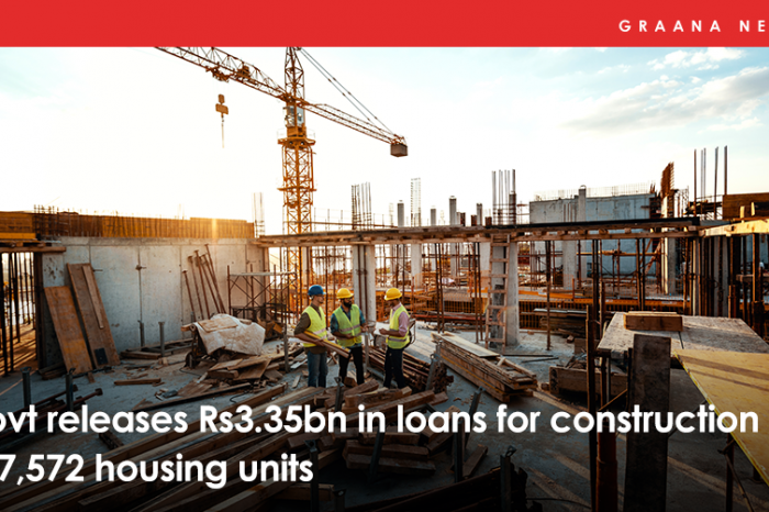 Govt releases Rs3.35bn in loans for construction of 7,572 housing units