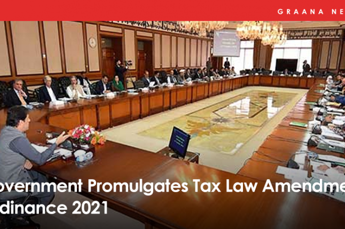 Government Promulgates Tax Law Amendment Ordinance 2021