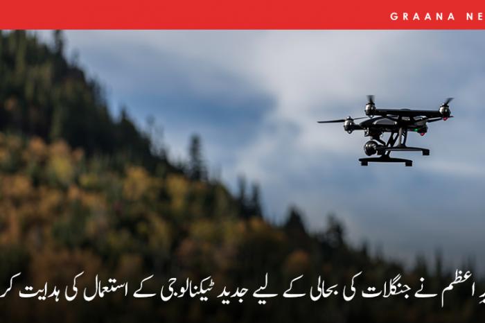 وزیرِ اعظم نے جنگلات کی بحالی کے لیے جدید ٹیکنالوجی کے استعمال کی ہدایت کردی