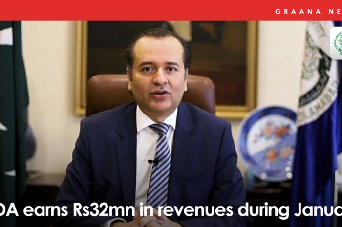 CDA earns Rs32mn in revenues during January