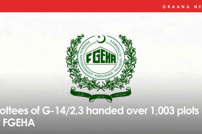 Allottees of G-14/2,3 handed over 1,003 plots by FGEHA