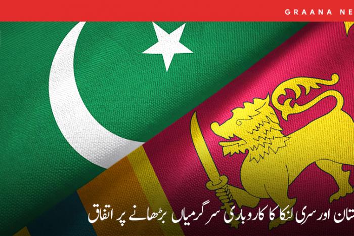 پاکستان اور سری لنکا کا کاروباری سرگرمیاں بڑھانے پر اتفاق