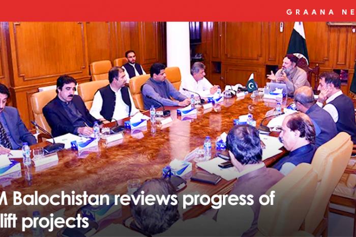 CM Balochistan reviews progress of uplift projects