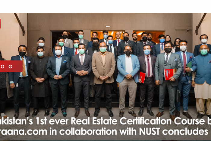 Pakistan's 1st ever Real Estate Certification Course by Graana.com in collaboration with NUST concludes