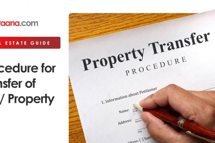 Procedure for Transfer of Plot/ Property