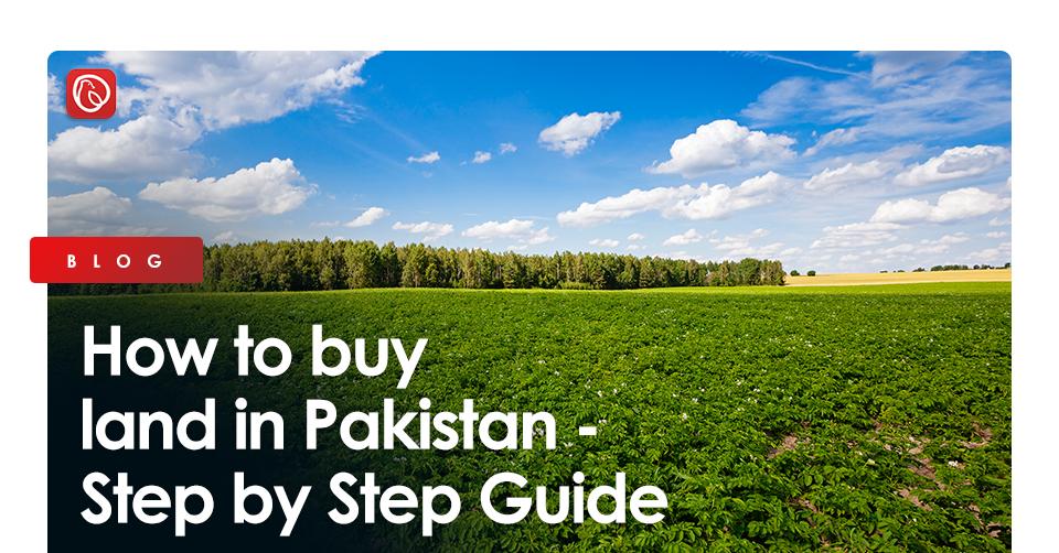 buy land in Pakistan