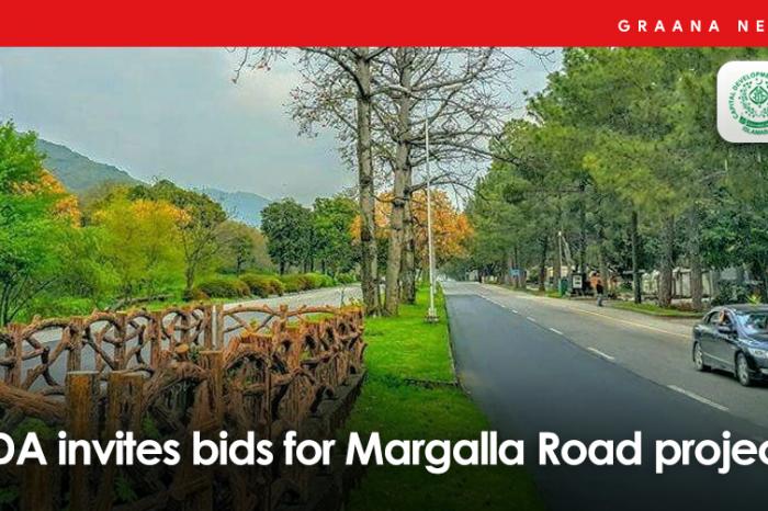 CDA invites bids for Margalla Road project