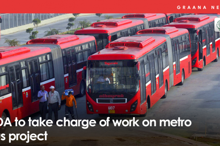 CDA to take charge of work on metro bus project