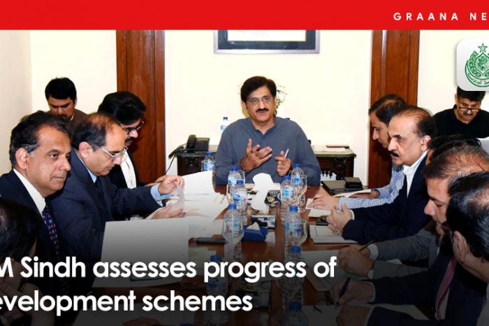 CM Sindh assesses progress of development schemes