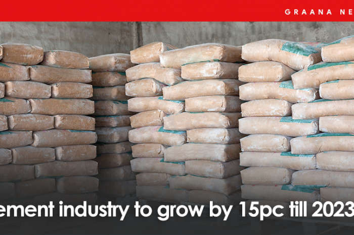 Cement industry to grow by 15pc till 2023