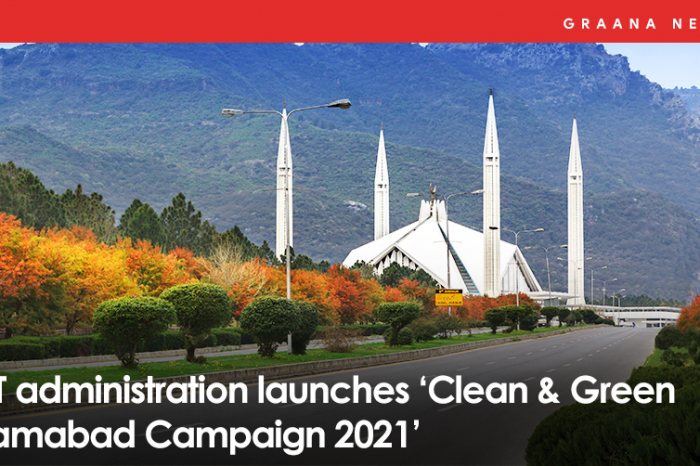 ICT administration launches 'Clean & Green Islamabad Campaign 2021'