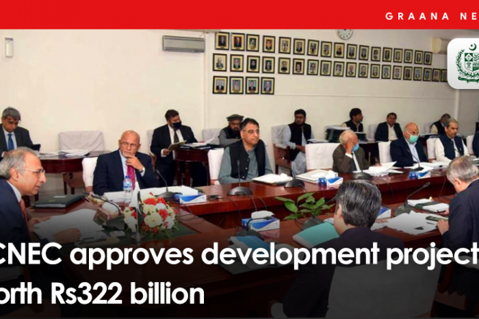 ECNEC approves development projects worth Rs322 billion