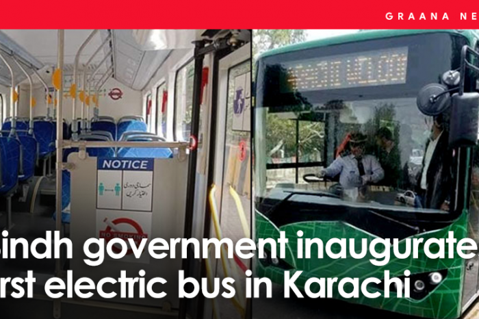 Sindh government inaugurates first electric bus in Karachi