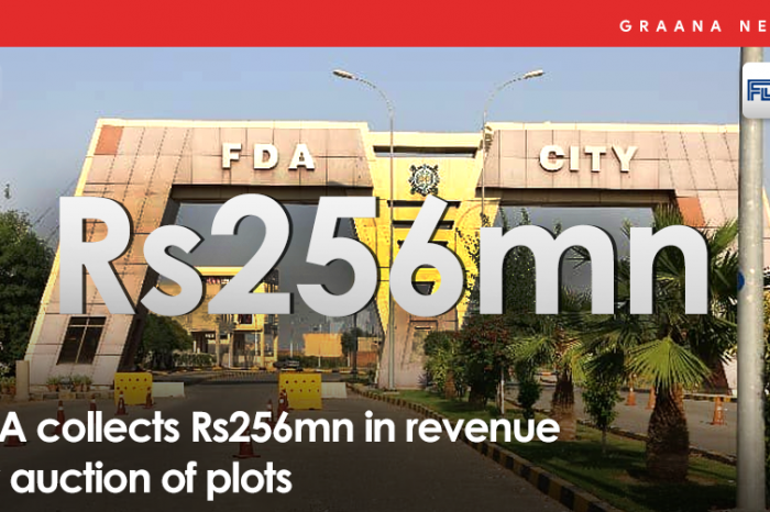 FDA collects Rs256mn in revenue by auction of plots
