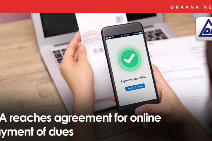 LDA reaches an agreement for online payment of dues