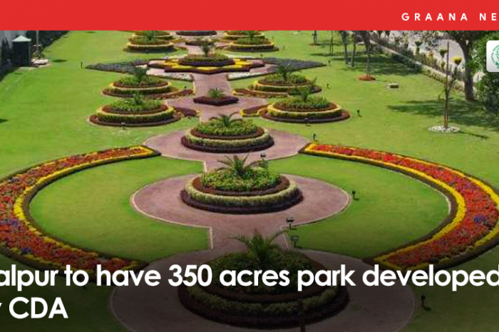 Malpur to have 350 acres park developed by CDA