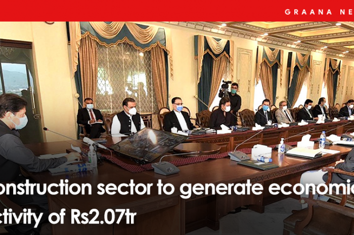 Construction sector to generate economic activity of Rs2.07tr