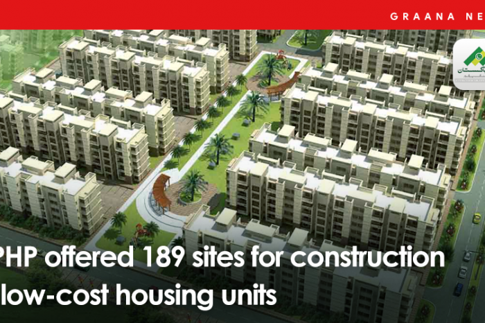 NPHP offered 189 sites for construction of low-cost housing units