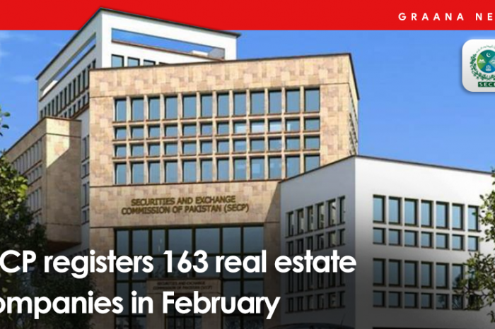 SECP registers 163 real estate companies in February