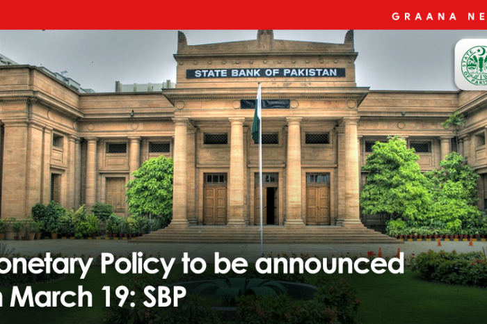 Monetary Policy to be announced on March 19: SBP