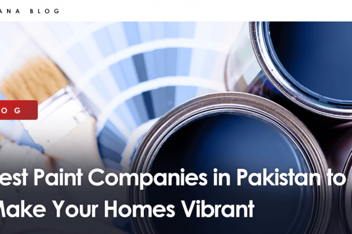 Best Paint Companies in Pakistan to Make Your Homes Vibrant