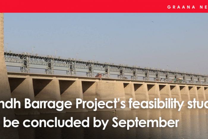 Sindh Barrage Project's feasibility study to be concluded by September