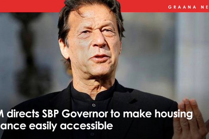 PM directed SBP governor to make housing finance easily accessible