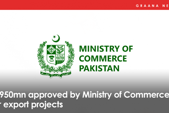 Rs950mn approved by Ministry of Commerce for export projects
