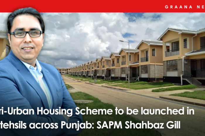 Peri-Urban Housing Scheme to be launched in 26 tehsils across Punjab: SAPM Shahbaz Gill