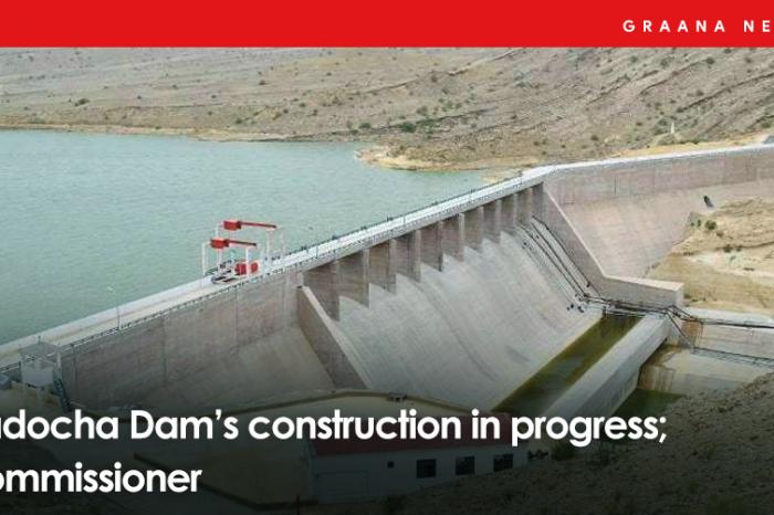 Dadocha Dam's construction in progress; Commissioner
