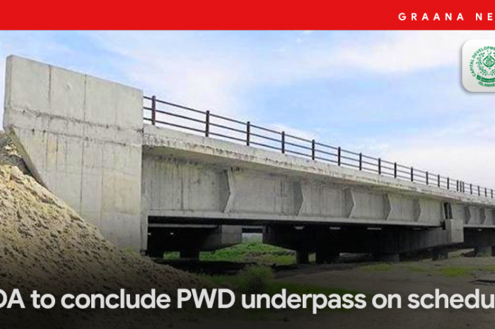CDA to conclude PWD underpass on schedule