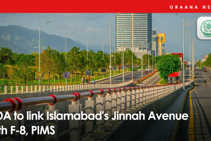 CDA to link Islamabad's Jinnah Avenue with F-8, PIMS