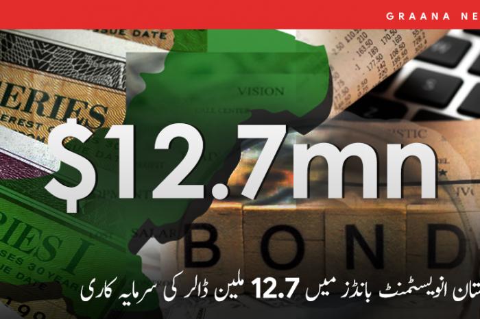 پاکستان انویسٹمنٹ بانڈز میں 12.7 ملین ڈالر کی سرمایہ کاری
