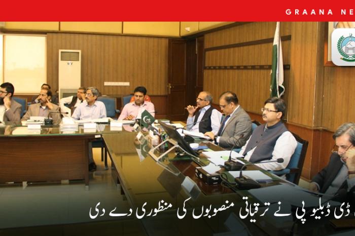 پی ڈی ڈبلیو پی نے ترقیاتی منصوبوں کی منظوری دے دی