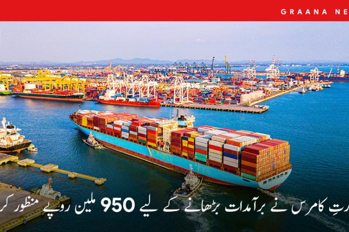 وزارتِ کامرس نے برآمدات بڑھانے کے لیے 950 ملین روپے منظور کرلیے