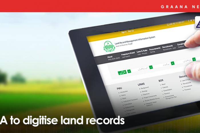 LDA to digitise land records