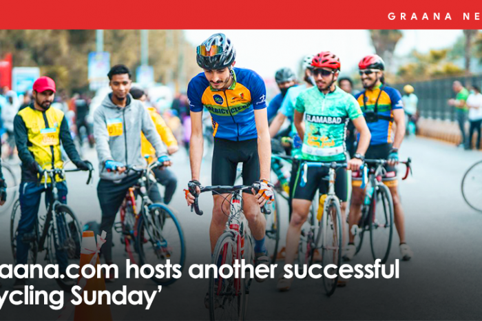 Graana.com hosts another successful 'Cycling Sunday'