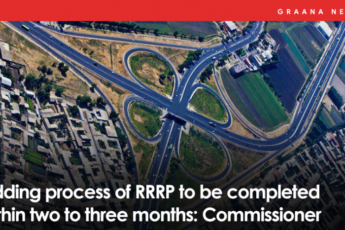Bidding process of RRRP to be completed within two to three months: Commissioner