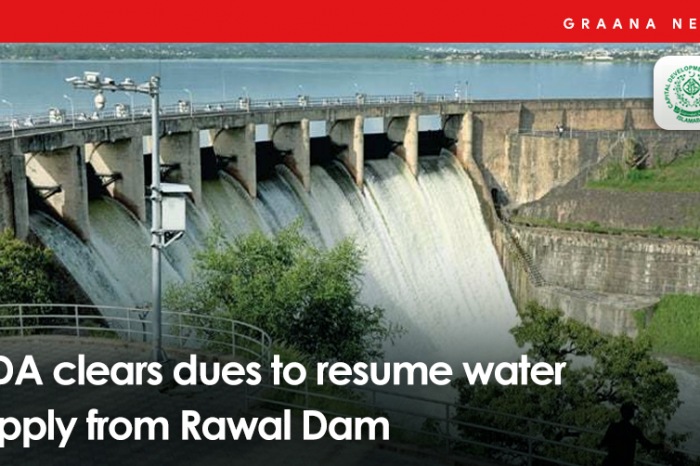 CDA clears dues to resume water supply from Rawal Dam