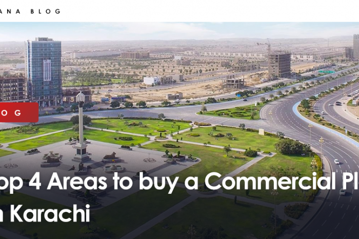 Top 4 Areas to buy a Commercial Plot in Karachi