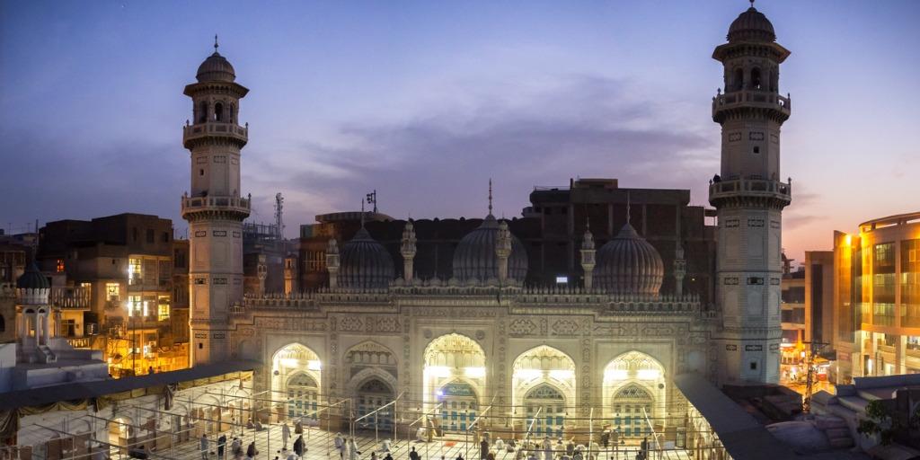 Mahabat Khan Mosque in Pakistan