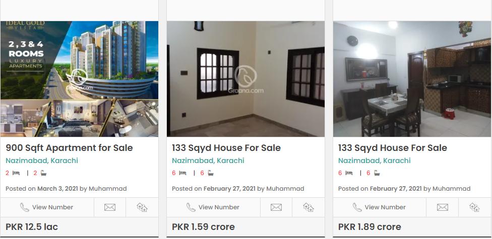 nazimabad karachi to invest