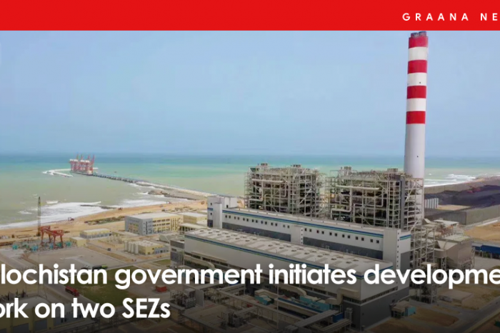 Balochistan government initiates development work on two SEZs