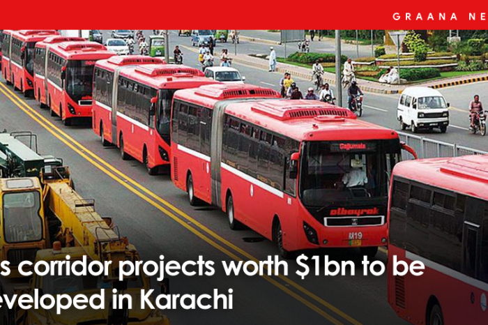 Bus corridor projects worth $1bn to be developed in Karachi